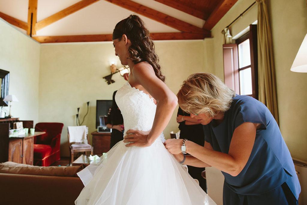 professionisti del matrimonio wedding planner silvia carli vestito sposa