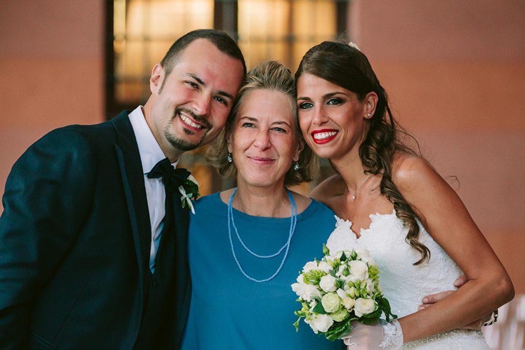 professionisti del matrimonio wedding planner silvia carli con sposi