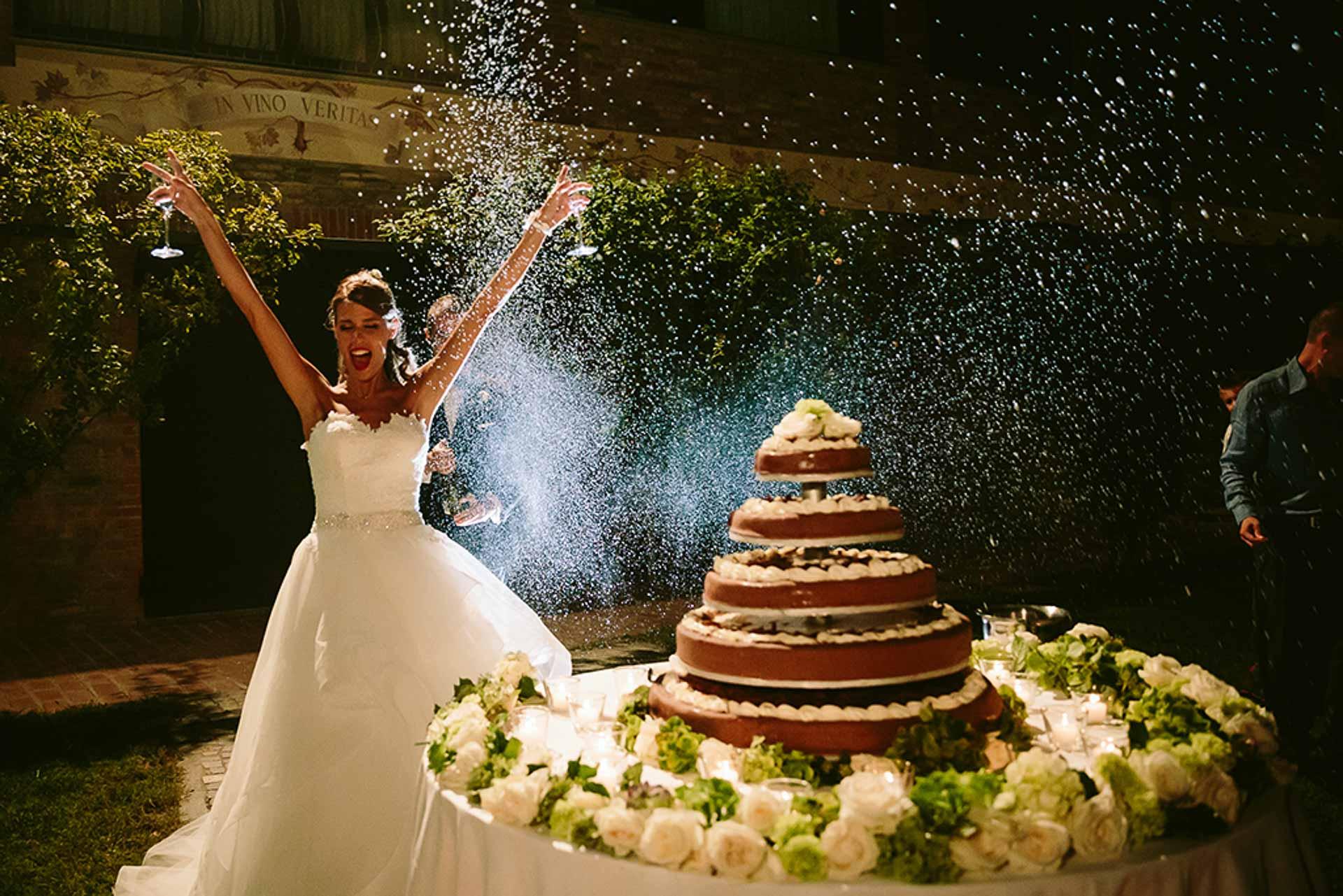 silvia  carli wedding planner torta