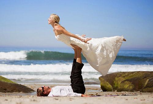 organizzare un matrimonio fare un corso di yoga